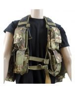 Mil-Tec Vegetato Tactical Vest with Backpack