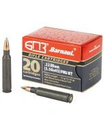 Barnaul 223 Remington 20 Rounds | 55Gr | Full Metal Jacket | BRN223REMFMJ55