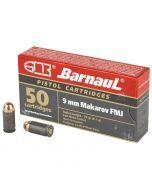 Barnaul 9mm Makarov 94gr FMJ