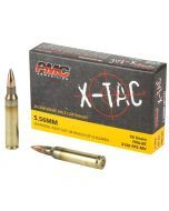PMC X-Tac 5.56 Ammunition (55gr) – 20 Rounds of 55gr FMJ Ammunition