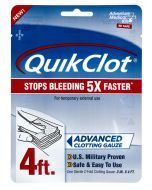 QuikClot Clotting Gauze - 4-feet