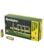 Remington High Terminal Performance 40 S&W 180 Grain JHP Ammo