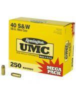 Remington UMC .40SW Mega Pack - L40SW3A