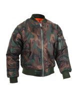 MA-1 Flight Jacket - Woodland Camo