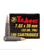 Tulammo 7.62x39mm 100 Round Box - UL076210