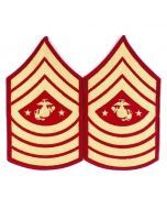 USMC Sergeant Major Insignia Pair