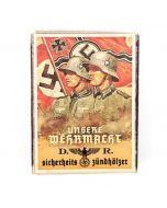 Vintage German Unsere Wermacht Matchbox
