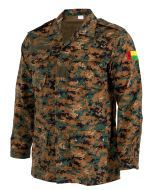 West African Guinea-Bissau Army Combat Jacket