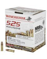 Winchester USA 22 LR 525 Rounds | 36Gr | Hollow Point | 22LR525HP