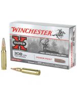 Winchester Super-X Power-Point 308 Winchester 20 Rounds | 150Gr | Pointed Soft Point | X3085