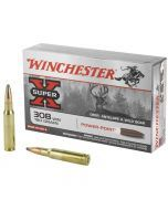 Winchester Super-X Power-Point 308 Winchester 20 Rounds | 180Gr | Pointed Soft Point | X3086